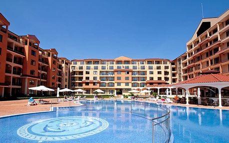 Bulharsko - Slunečné Pobřeží na 8 až 12 dní, all inclusive s dopravou letecky z Brna nebo Prahy 400 m od pláže
