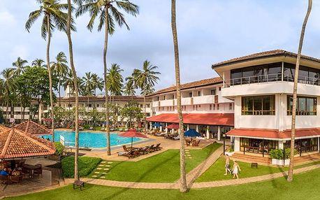 Srí Lanka - Kalutara na 9 dní, polopenze s dopravou letecky z Prahy přímo na pláži
