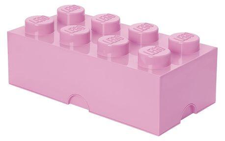 Světle růžový úložný box LEGO®