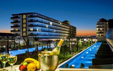 Turecko - Alanya na 8 až 15 dní, all inclusive s dopravou letecky z Prahy přímo na pláži