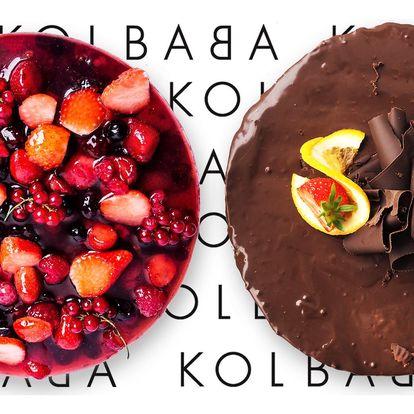 Čokoládový nebo svěží jogurtový dort z Kolbaby