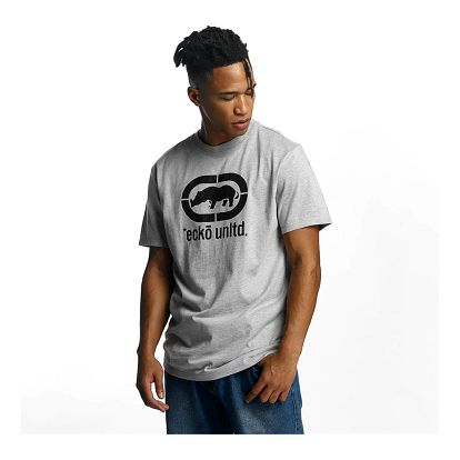 Ecko Unltd. / T-Shirt Base in grey 2XL