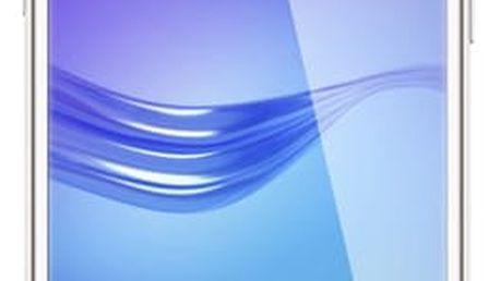 Mobilní telefon Huawei Y6 2017 Dual SIM bílý + dárek (SP-Y617DSWOM)
