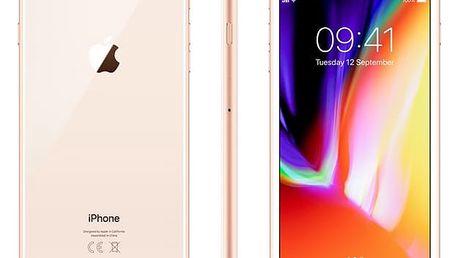 Mobilní telefon Apple iPhone 8 Plus 64 GB - Gold (MQ8N2CN/A) Software F-Secure SAFE, 3 zařízení / 6 měsíců v hodnotě 979 Kč + DOPRAVA ZDARMA