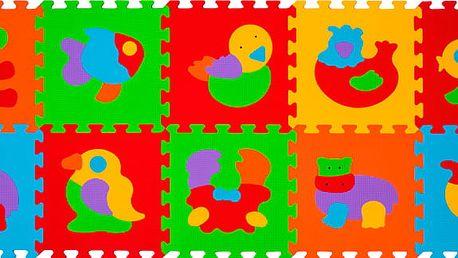 BABY ONO Puzzle pěnová zvířátka 10ks