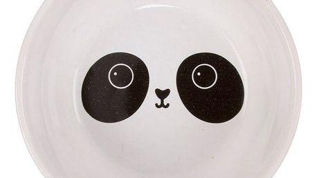sass & belle Keramická miska Panda Kawaii, bílá barva, keramika