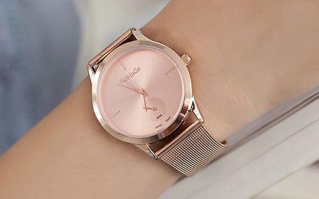 Dámské kovové hodinky - 5 barev