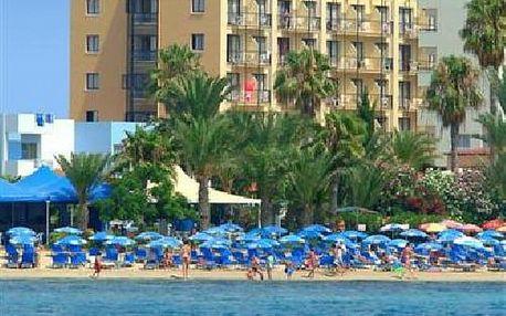 Kypr - Agia Napa na 8 dní, all inclusive s dopravou letecky z Prahy 100 m od pláže