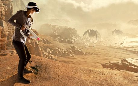 Zážitek ve virtuální realitě: hodina hraní a zábavy