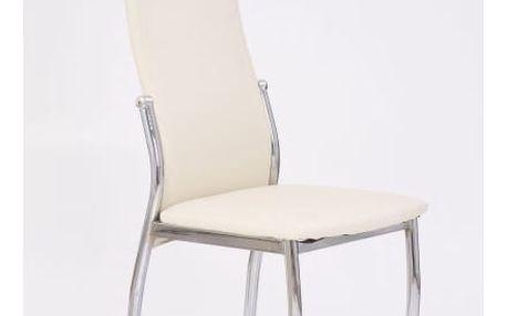 Kovová židle K3 vanilka