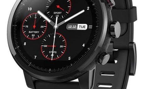 Chytré hodinky Xiaomi Amazfit 2 Stratos černý (AMI681)