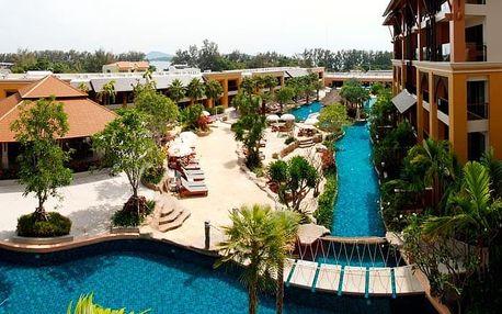 Thajsko - Phuket na 8 dní, snídaně s dopravou letecky z Prahy 200 m od pláže