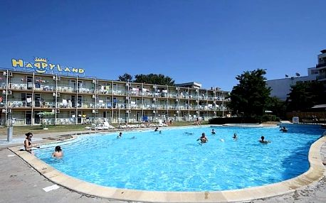 Bulharsko - Slunečné Pobřeží na 8 až 15 dní, all inclusive, plná penze nebo polopenze s dopravou letecky z Prahy 200 m od pláže