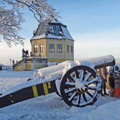 Adventní trhy na pevnosti Konigstein + Drážďany