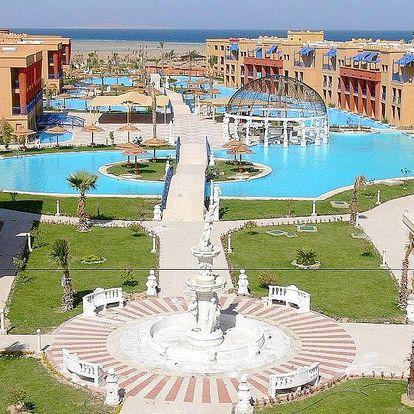 Egypt - Hurghada na 12 až 16 dní, all inclusive s dopravou letecky z Prahy nebo Brna přímo na pláži