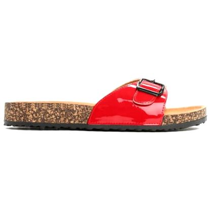 Dámské červené pantofle Elenice 6222
