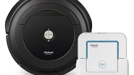 Vysavač robotický iRobot Roomba 696 + Braava jet 240