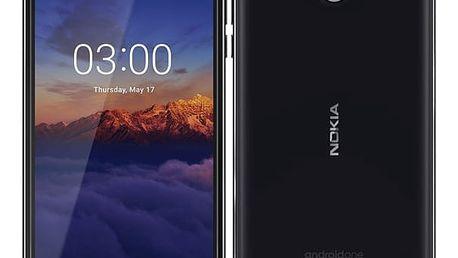 Mobilní telefon Nokia 3.1 Single SIM (11ES2B01A16) černý Software F-Secure SAFE, 3 zařízení / 6 měsíců v hodnotě 979 Kč + DOPRAVA ZDARMA