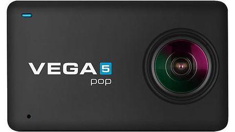 Outdoorová kamera Niceboy VEGA 5 pop + dálkové ovládání černá (vega-5-pop)