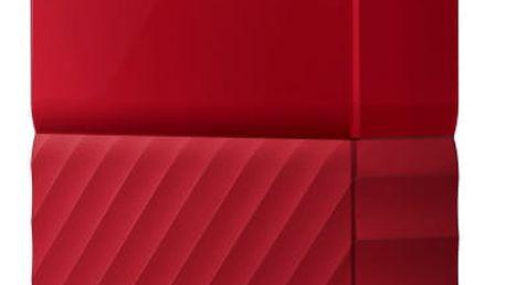 """Externí pevný disk 2,5"""" Western Digital My Passport 2TB červený (WDBYFT0020BRD-WESN)"""