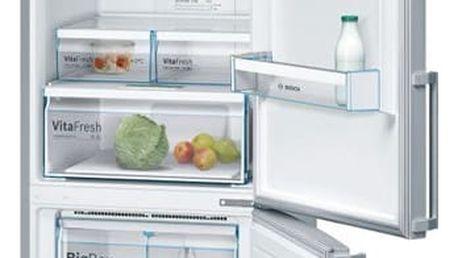 Chladnička s mrazničkou Bosch KGN56XI40 nerez/Inoxlook