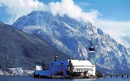 Advent u jezera Traunsee a Wels