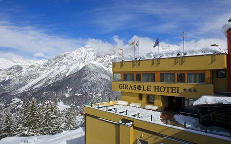 5denní Bormio se skipasem | Hotel Girasole*** přímo u lanovky | Vlastní doprava, ubytování, polopenze a skipas
