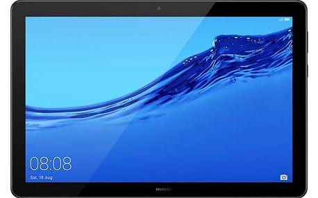 Dotykový tablet Huawei T5 10 Wi-FI (TA-T510WBOM) černý Software F-Secure SAFE, 3 zařízení / 6 měsíců + Pouzdro na tablet Huawei MediaPad T5 10.0 , flipové černé v hodnotě 979 Kč