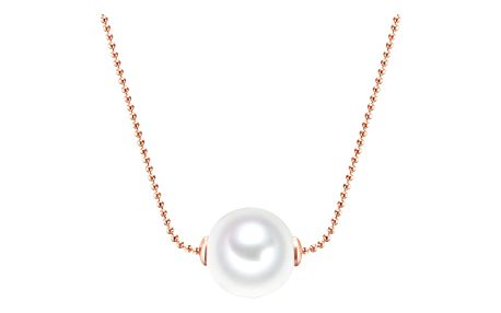 Náhrdelník s perlou Nova Pearls Copenhagen Rose Eve
