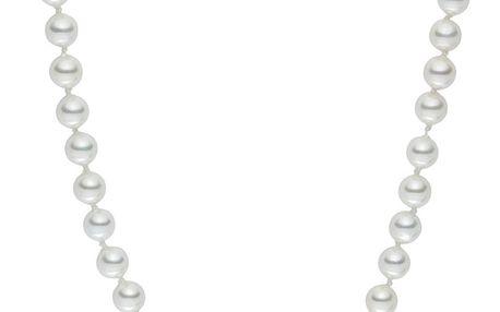 Bílý perlový náhrdelník Pearls of London, 42 cm