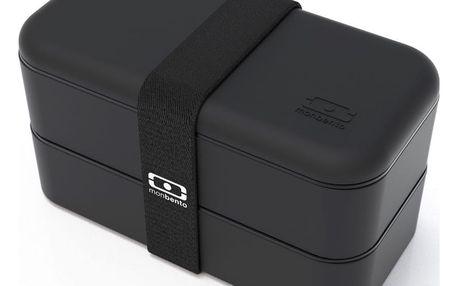 Černý obědový box Monbento Original
