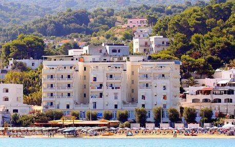 Itálie - Gargano na 10 dní, bez stravy s dopravou autobusem 10 m od pláže