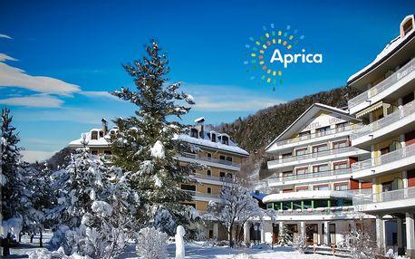 6denní Aprica se skipasem | Hotel Urri*** | Doprava, ubytování, polopenze a skipas
