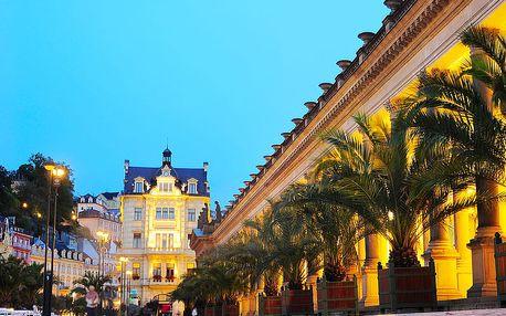 Karlovy Vary relaxačně v 4* hotelu s balíčkem wellness procedur, vstupem do bazénového komplexu i snídaní