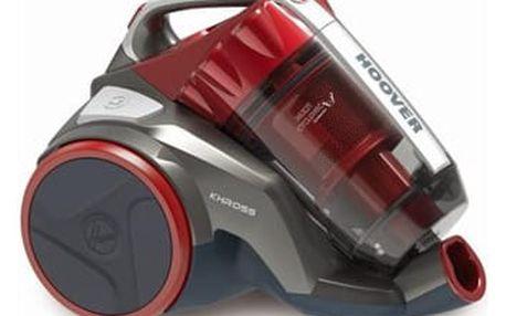 Vysavač podlahový Hoover Khross KS50PET 011 červený