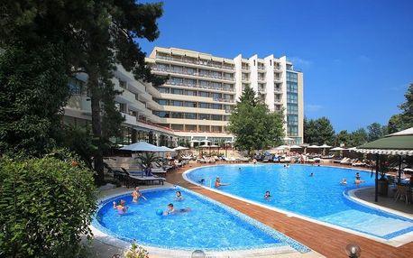 Bulharsko - Zlaté Písky na 8 dní, all inclusive s dopravou letecky z Brna nebo Prahy 400 m od pláže