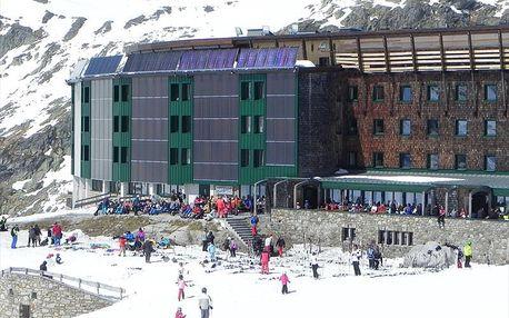 Horský hotel Rudolfshütte ve Weissse Gletscherwelt