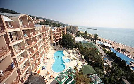 Bulharsko - Zlaté Písky na 8 až 11 dní, all inclusive s dopravou letecky z Brna nebo Prahy 50 m od pláže