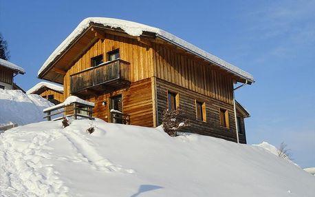 Vesnička Alpendorf s chatami v Annabergu - u sjezdovky