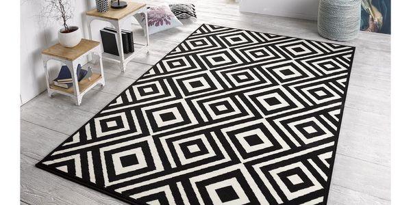 Černo-krémový koberec Zala LivingArt,160x230cm2