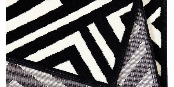Černo-krémový koberec Zala LivingArt,160x230cm3