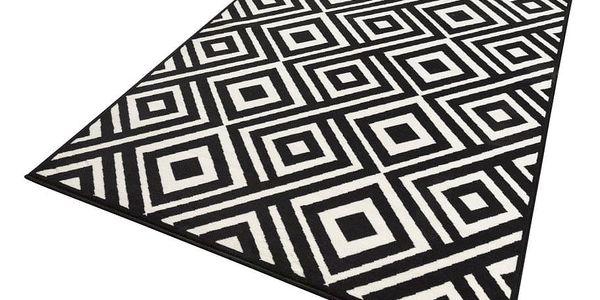 Černo-krémový koberec Zala LivingArt,160x230cm4