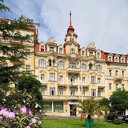 Mariánské Lázně - wellness pobyt pro dva v Hotelu Fontána, s polopenzí a spoustou procedur.