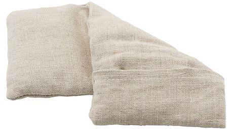 meraki Nahřívací polštářek Meraki - menší, béžová barva, přírodní barva, textil
