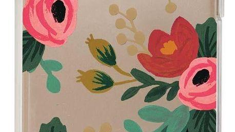 Rifle Paper Co. Kryt na iPhone 6/6s/7/8 Clear Rosa, růžová barva, zelená barva, čirá barva, plast
