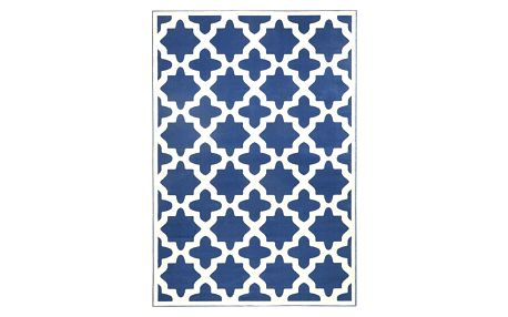 Modrý koberec Hanse HomeNoble, 70x140cm