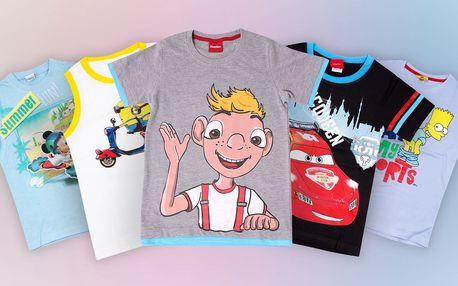 Chlapecká trička a tílka s motivy pohádek