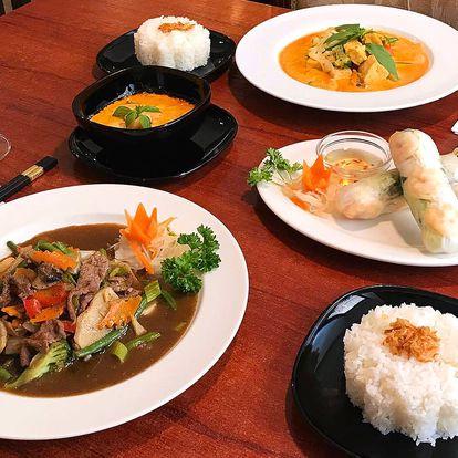 3chodové vietnamské menu s nápojem pro dva na Praze 1 v Chopstix
