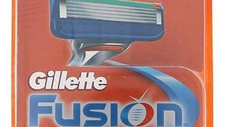 Gillette Fusion 4 ks náhradní břit M