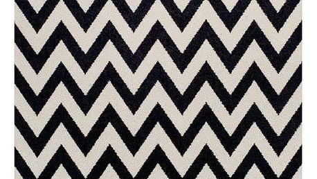 Tempo Kondela Kusový koberec Adisa tmavě šedá, 67 x 120 cm